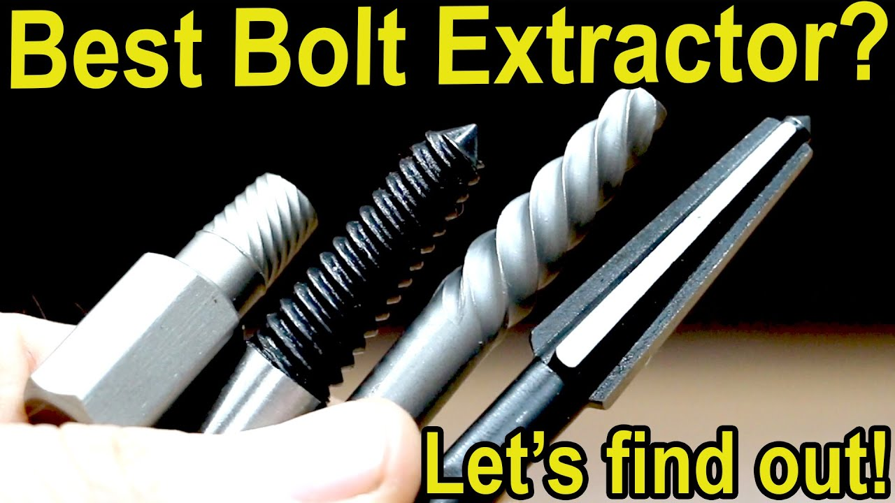 Best Bolt Extractor Let S Find Out Drill Hog Bosch Irwin Speed Out Ryobi Broken Screw Sets Youtube