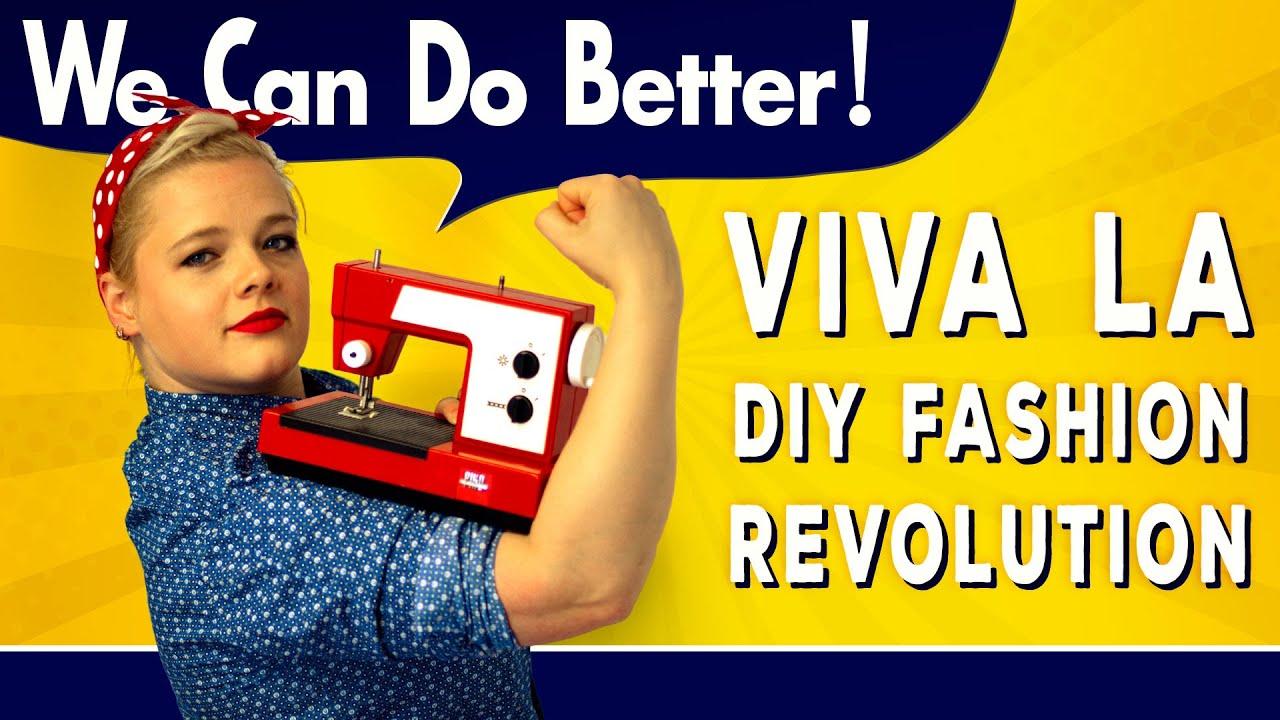 Unsere DIY-Fashion Revolution!