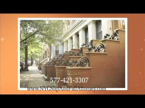 New York Sidewalk Accident Attorneys Manhattan Slip-and-Fall Lawyers NYC Defective Sidewalk Lawyer
