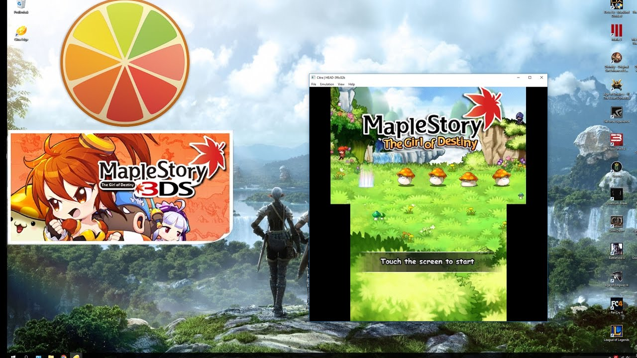 How to apply English Patch on Maplestory 3DS Citra   Japanese - English    Tutorial Video