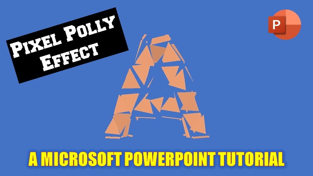 pixel polly text animation effect in microsoft powerpoint 2016 the