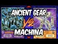 Duel Week: ANCIENT GEARS vs MACHINAS (Yugioh Deck Mastery)
