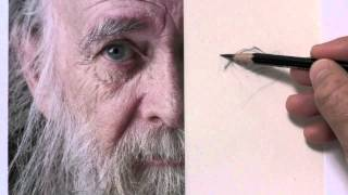 Draw An Older Man with Wrinkles and A Beard