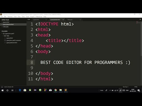 The Best Code Editor For Programmers | How To Download And Install Sublime Text Editor Step By Step