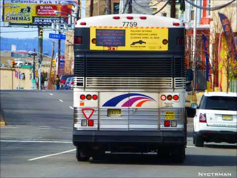 [Audio Recording] New Jersey Transit Motor Coach Industries D4000 7743