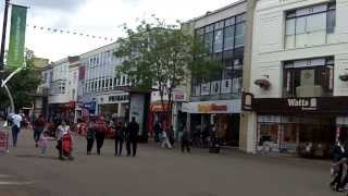 Town Centre and Shops, Northampton.