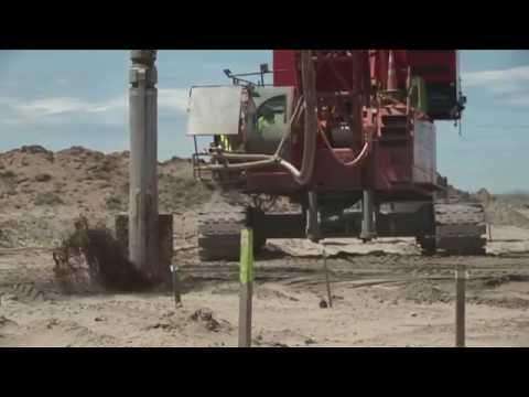 Vibroflotation - Sand Columns