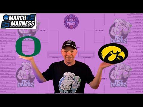 Iowa vs Oregon 3/22/21 Free College Basketball Pick and Prediction NCAA Tournament
