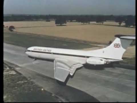 VC10 British United Airways BUA - Gatwick