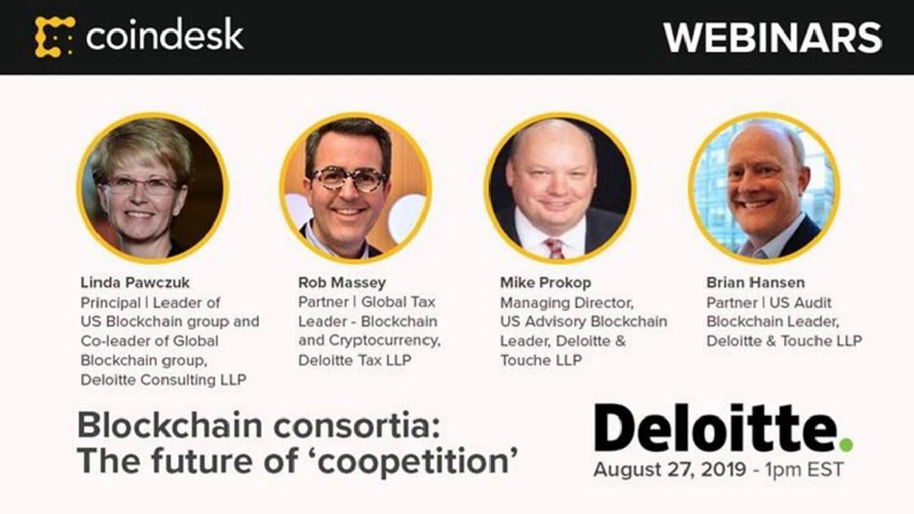 Blockchain consortia: The future of 'coopetition' — Webinar