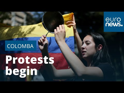 Latin America protest wave crashes into Colombia