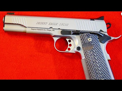 Magnum Research Desert Eagle 1911 Government Review