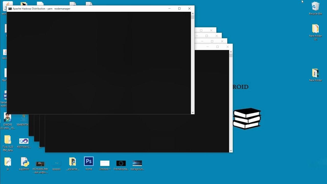 install hadoop 3 on windows 10