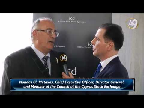 Nondas Cl. Metaxas, Director General and Member of the Council at the Cyprus Stock Exchange