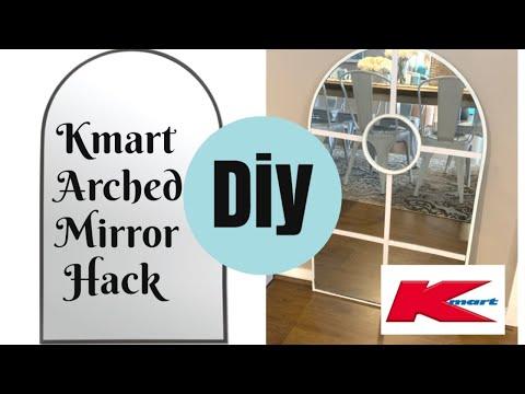 DIY GLAM DESIGNER MIRROR | KMART AUSTRALIA HACK
