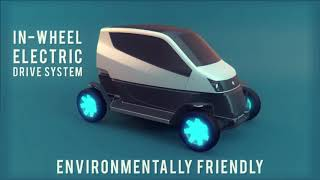 City (CT) Transformer Fold-able Two-Seater Electric Vehicle Is The Future Of Urban Driving