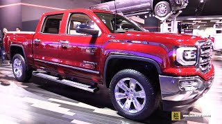 2016 gmc sierra slt z71 exterior and interior walkaround 2016 detroit auto show
