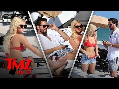 Scott Disick & Sophia Richie Burning Up Miami   TMZ TV
