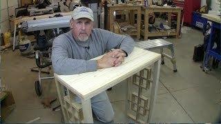Build A Fretwork Console Table Pt 1