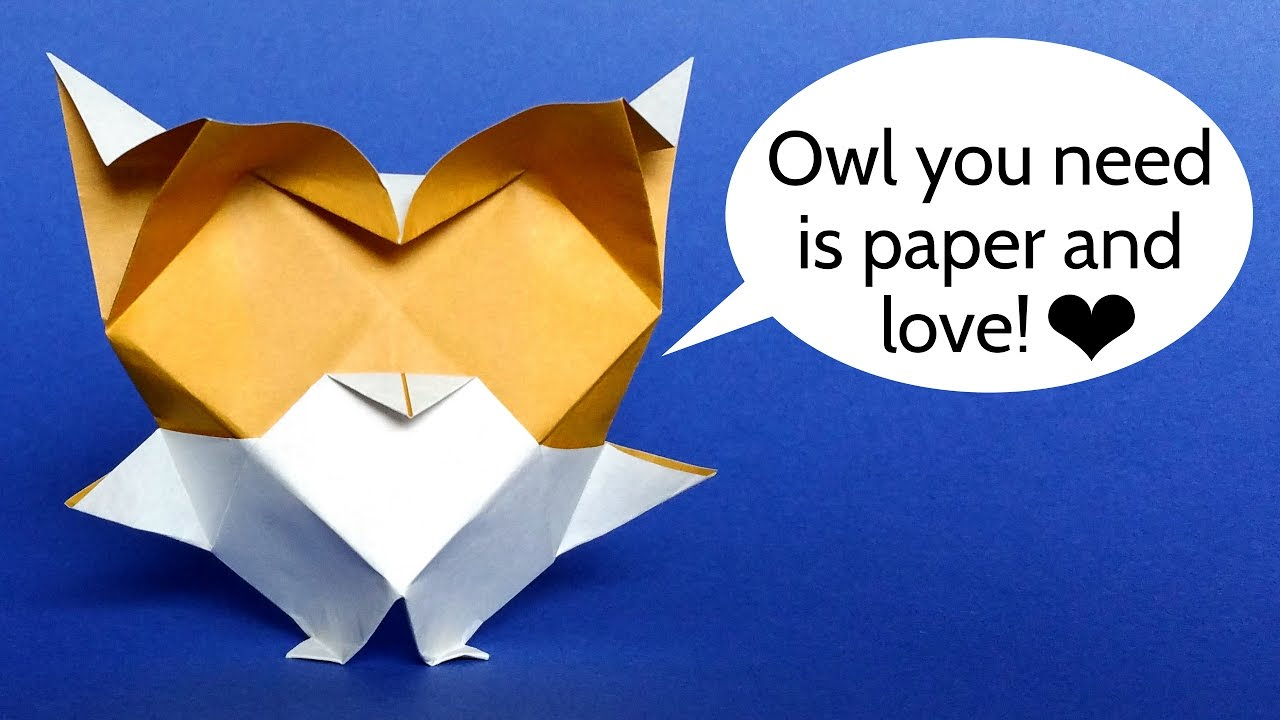How to Make an Origami Owl (with Pictures) - wikiHow   720x1280