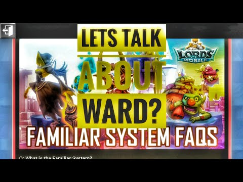Lords Mobile - Monster Taming, Ward! How To Defend Against Familiars Attack!