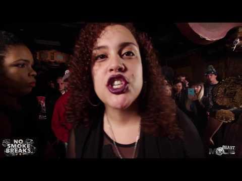BEASTMODE - ROBYN BANKS vs YASMIN - Female Rap Battle (Co-Hosted by: The Saurus)
