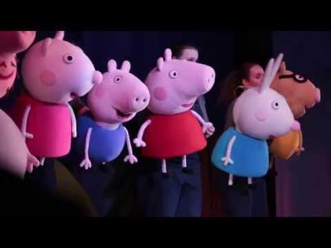 Мультик с игрушками из мультфильма Свинка Пеппа