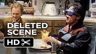 Back to the Future Part II Deleted Scene - Pizza (1985) - Michael J. Fox Movie HD