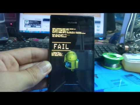 Huawei Ascend P2 p2 6011 hard reset