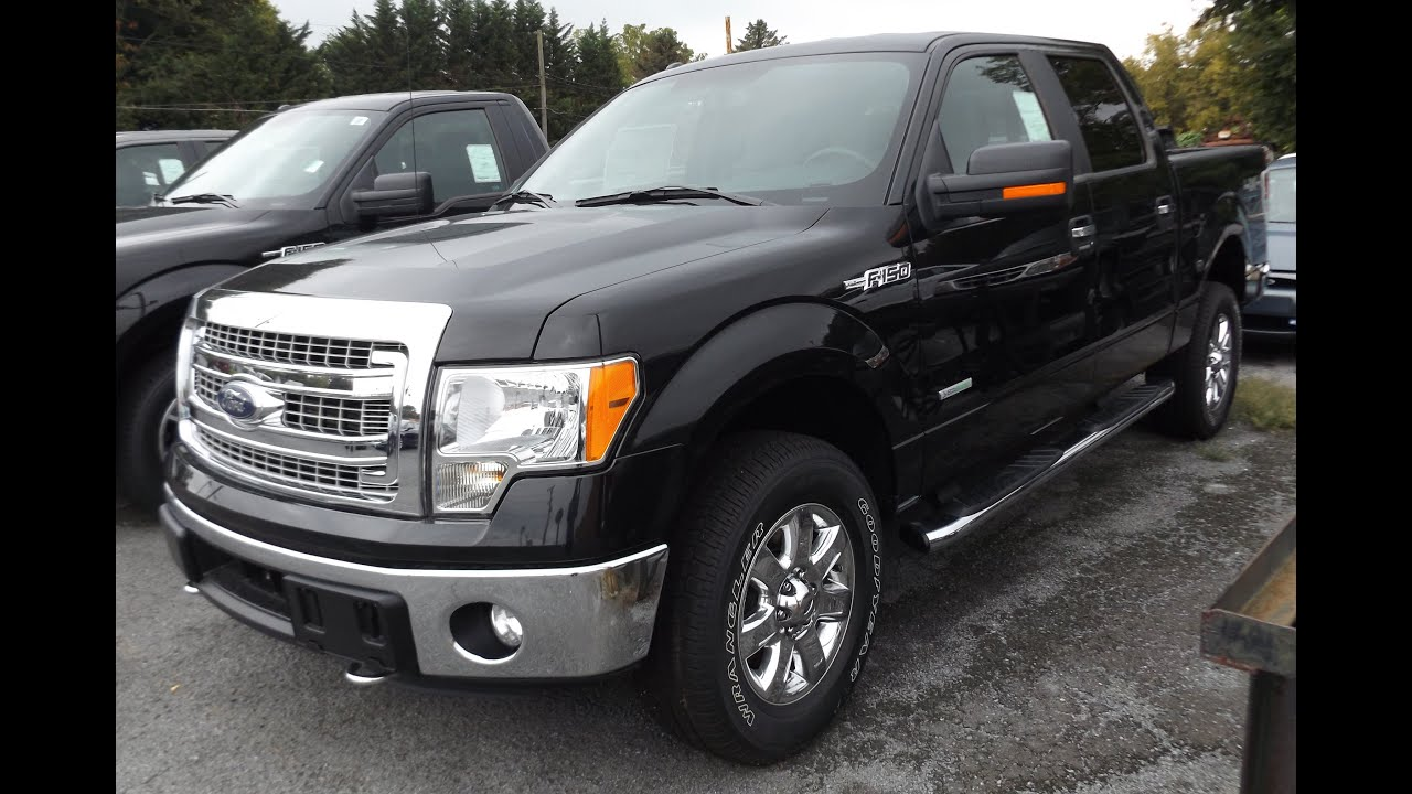 2014 ford f150 xlt crew cab 3 5l v6 4x4 start up tour and review youtube