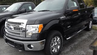 2014 Ford F150 XLT Crew Cab 3.5L V6 4X4 Start Up, Tour, and Review