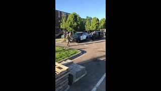National Guard troops arrive at the 2nd Precinct in Minneapolis