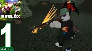 ROBLOX - Zombie Attack Gameplay Walkthrough Part 1( iOS, Android )