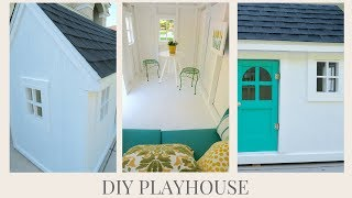 DIY HOME | How To Make The Perfect Playhouse | Kid Spaces