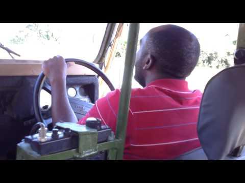 Masai guide wears GoPro