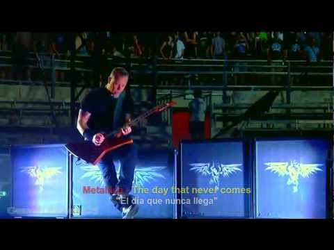 Metallica  The Day That Never Comes HD  Español  Inglés