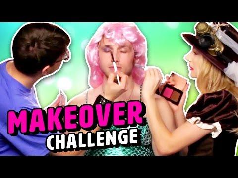 MAKEOVER CHALLENGE (Squad Vlogs)