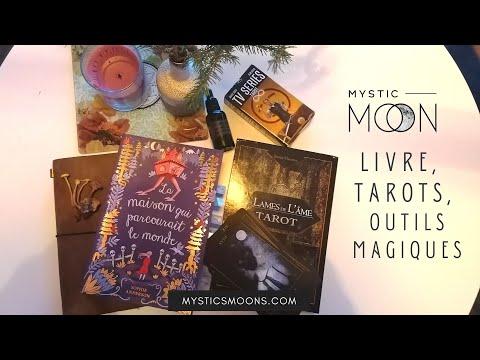 Favoris Mystic automne 2020 : livre, tarots, outils magiques, série, ...