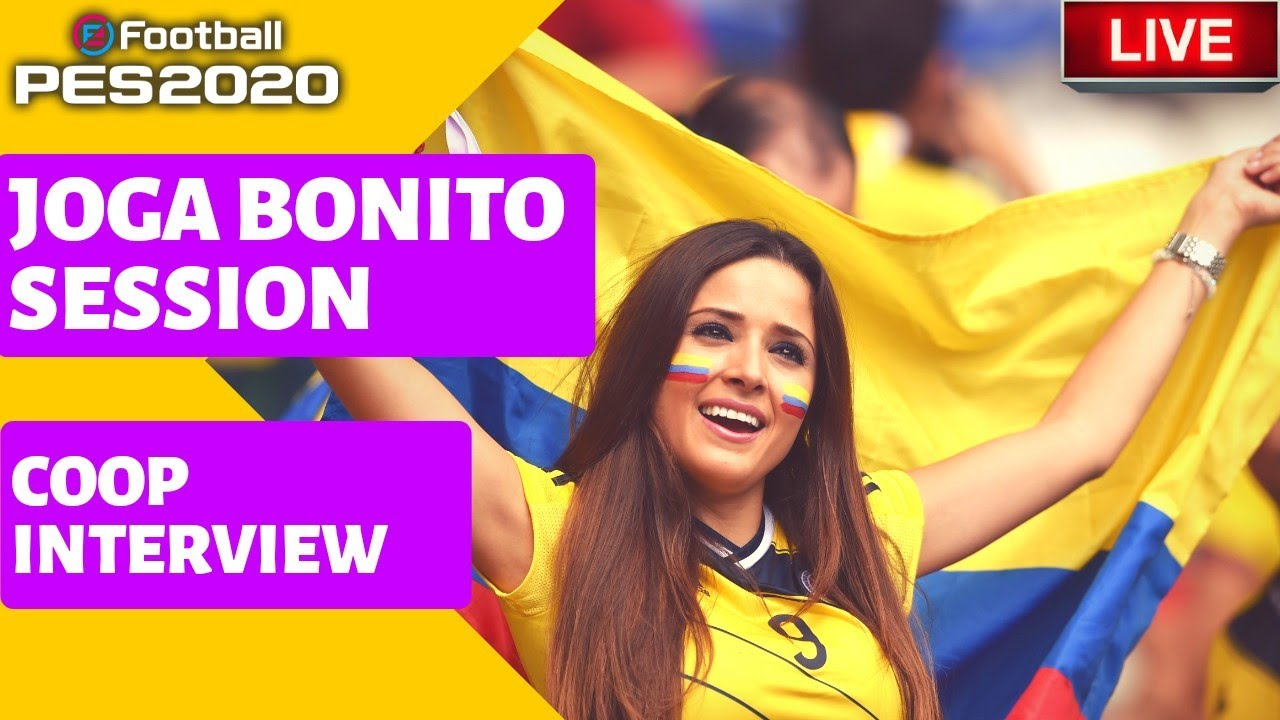 Efootball PES 2020 - Coop interview avec Choumo
