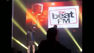 Basket Mouth, Bovi and Other Comedians get the crowd laughing, at Okey Bak****i Comedy Master cl****