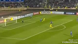 ثنائية بونجاح و جنون الشوالي ملخص مباراة السد القطري واستقلال طهران 3_1)