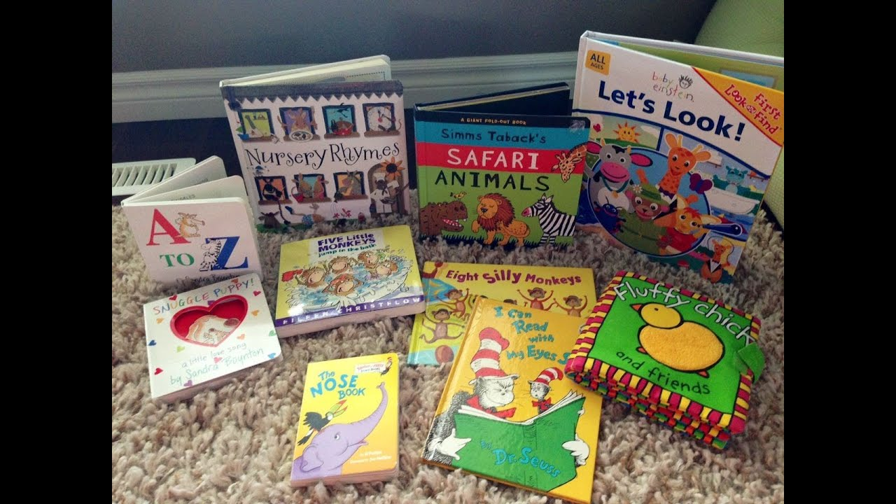 Top 10 best baby books for the first year and beyond - YouTube