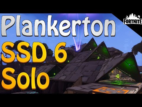 FORTNITE - Plankerton Storm Shield Defense 6 Solo Without Shooting, Rebuilding Or Repairing