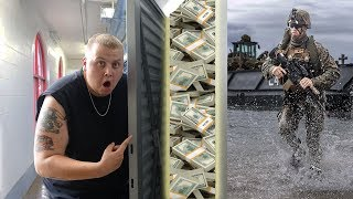 I Bought A Navy Seal's Abandoned Storage Unit And FOUND MONEY! I Bought An Abandoned Storage Unit!
