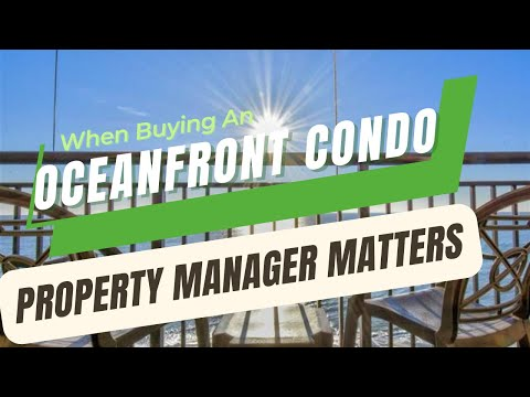 How to buy an ocean front condo myrtle beach   property manager