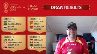 VM Russia 2018 Gruppe A gjennomgang med Jompa