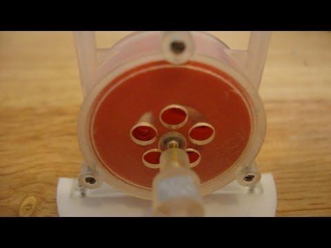 Tesla Turbine -1,354 revs PER SECOND!!!!