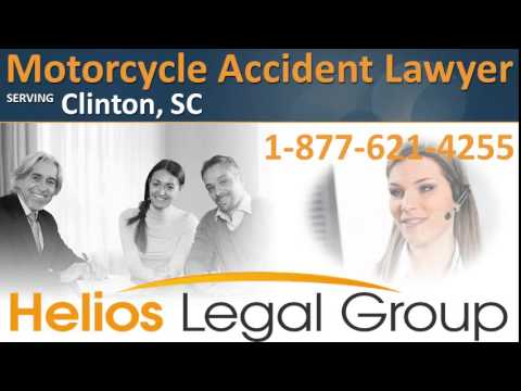 Clinton Motorcycle Accident Lawyer & Attorney - South Carolina