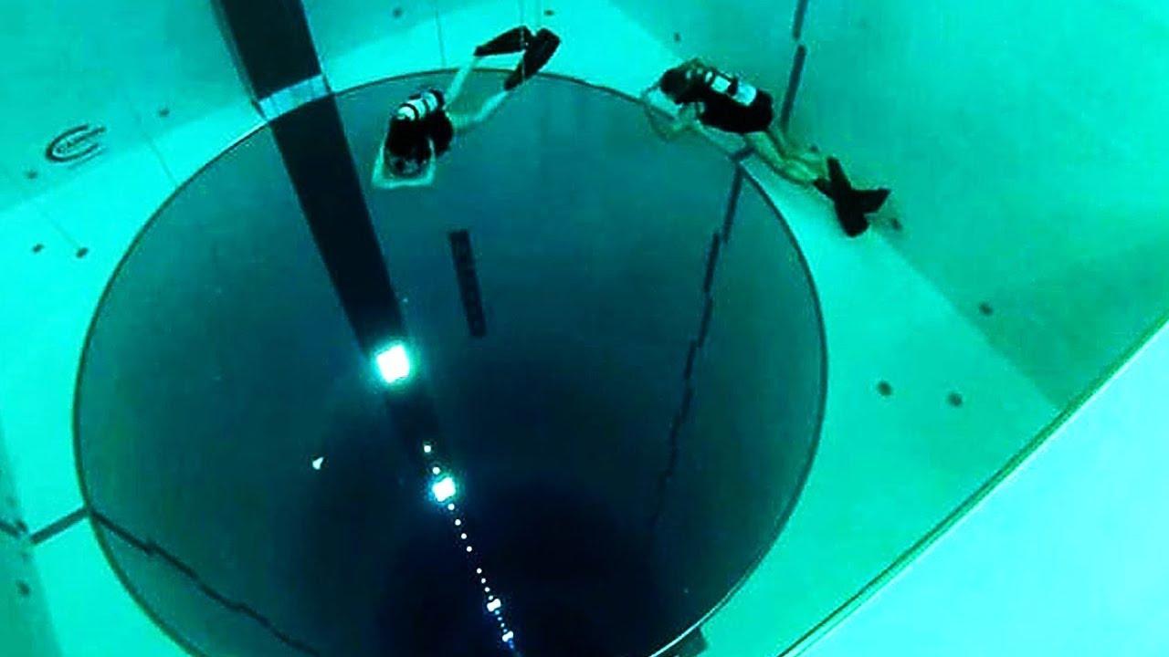 a piscina mais funda do mundo youtube