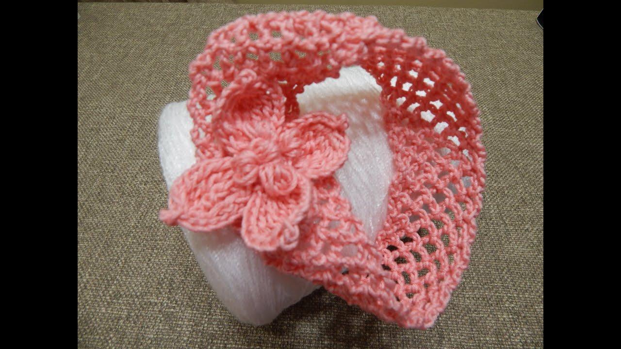 Bincha Banda para Niña Crochet - YouTube
